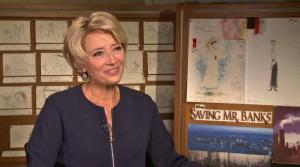 Emma Thompson talks to OTRC.com about her role in Saving Mr. Banks. - Provided courtesy of OTRC.com