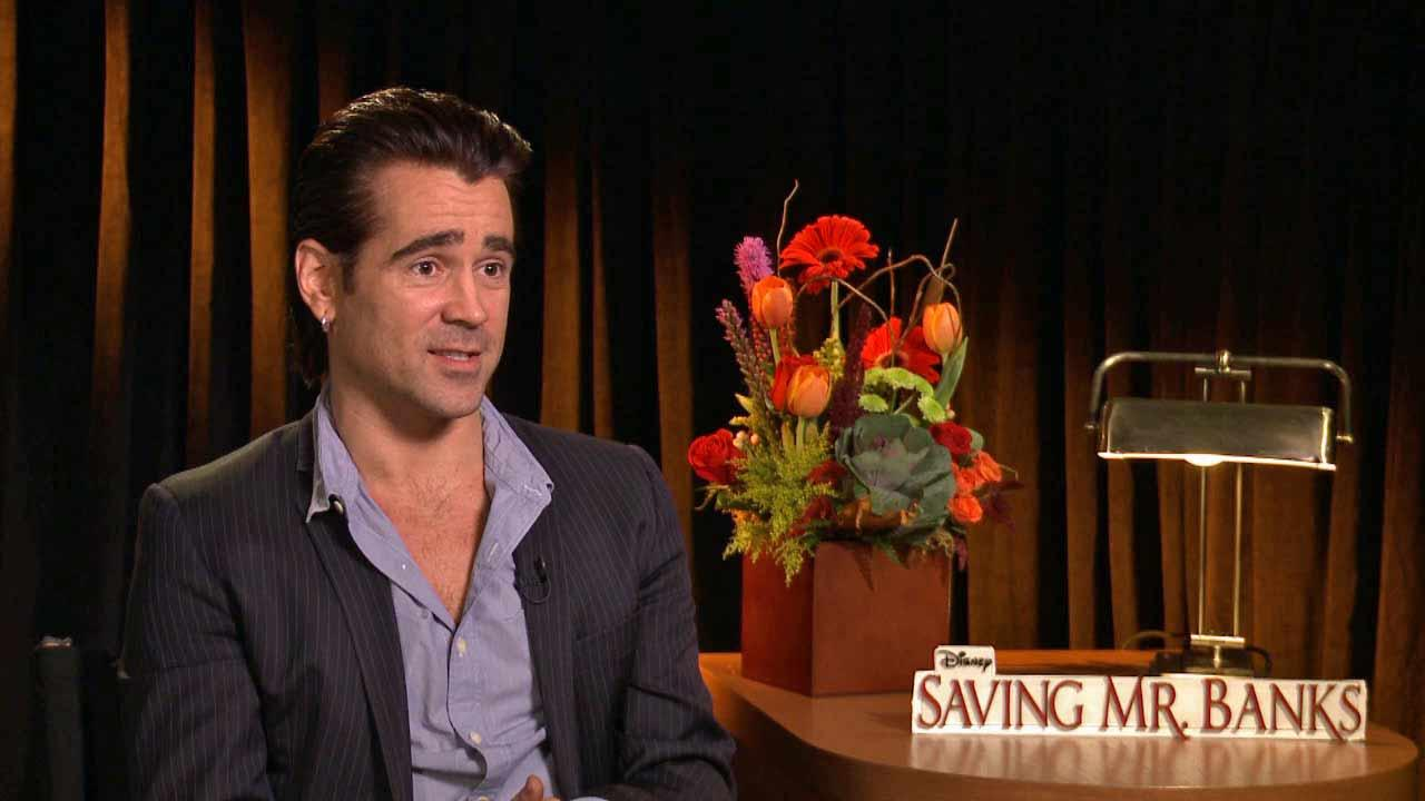 Colin Farrell talks to OTRC.com about his role in Saving Mr. Banks.