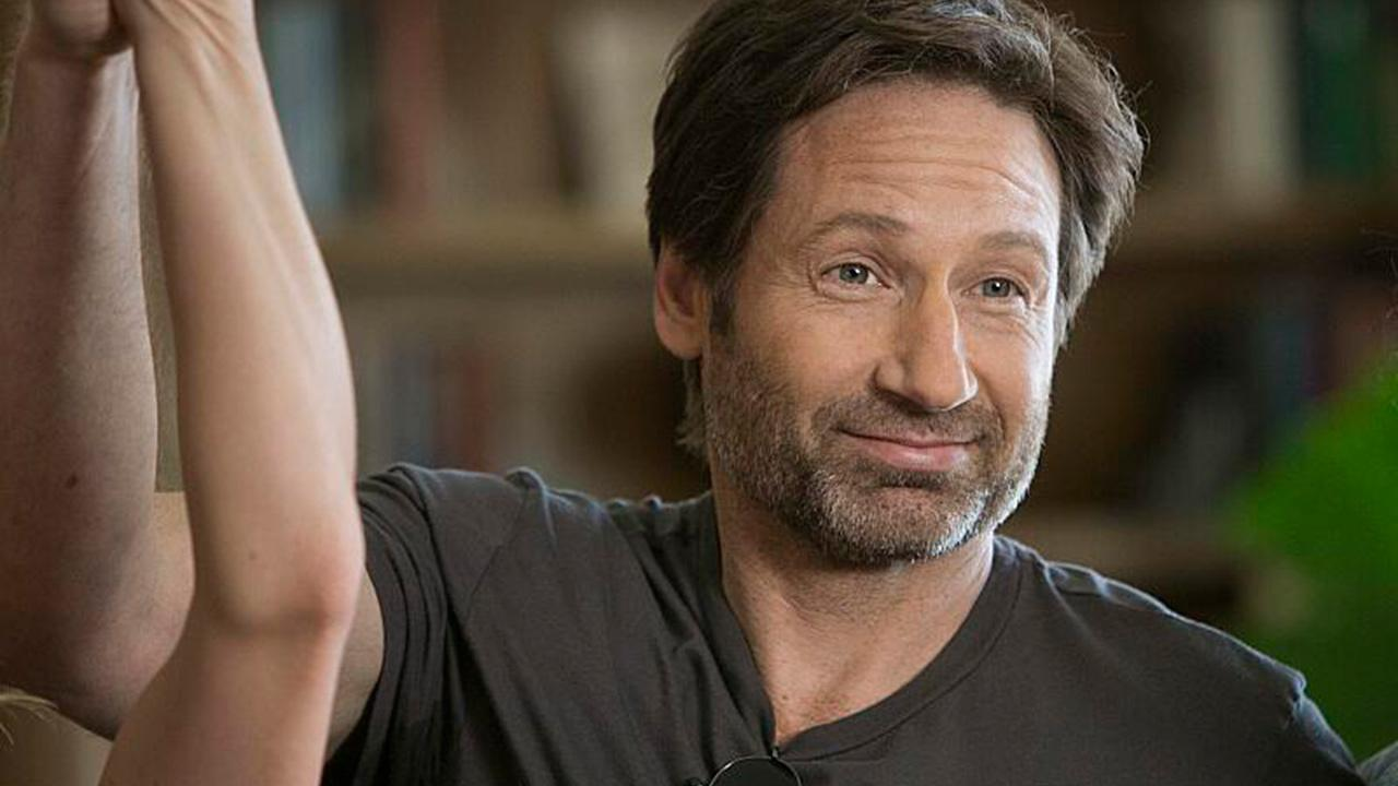 David Duchovny appears in a scene from the Showtime series Californication.