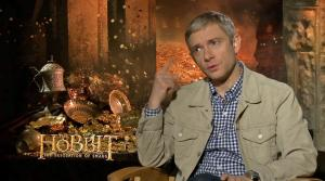 Martin Freeman talks to OTRC.com about the 2013 movie The Hobbit: The Desolation of Smaug. He plays Bilbo Baggins in the film, the second in Peter Jacksons trilogy. - Provided courtesy of OTRC