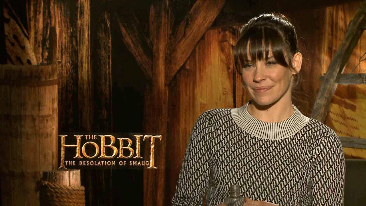 Evangeline Lilly talks with OTRC.com about The Hobbit 2, in theaters on Dec. 13, 2013.