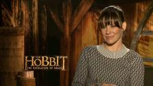 Evangeline Lilly talks with OTRC.com about The Hobbit 2, in theaters on Dec. 13, 2013. - Provided courtesy of OTRC.com