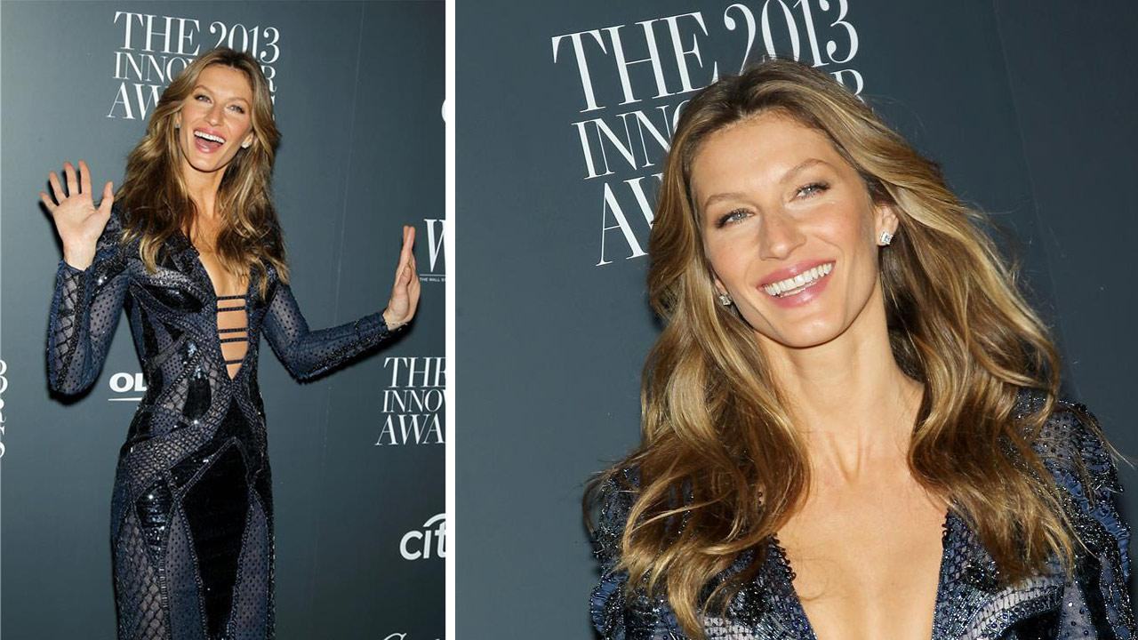 Gisele Bundchen attends the 2013 Innovator Awards, hosted by the Wall Street Journal magazine, at the Museum of Modern Art in New York on Nov. 6, 2013.