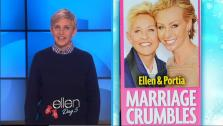 Ellen DeGeneres appears on The Ellen DeGeneres Show on an episode which aired on Dec. 11, 2013. - Provided courtesy of Warner Bros. Television