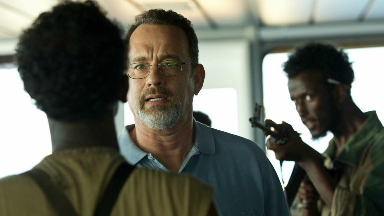 Tom Hanks appears in a scene from the 2013 movie Captain Phillips.Columbia Pictures