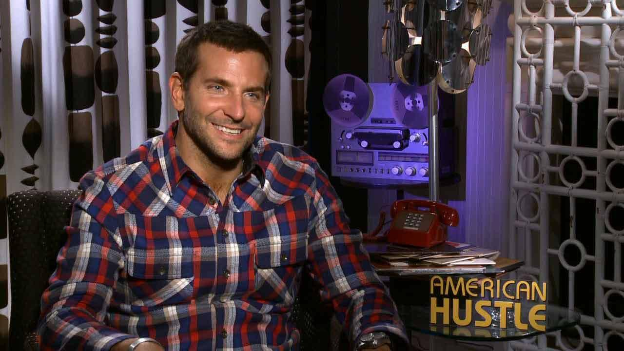 Bradley Cooper talks to OTRC.com about the 2013 film American Hustle.