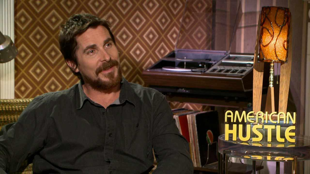 Christian Bale talks to OTRC.com about the 2013 film American Hustle.