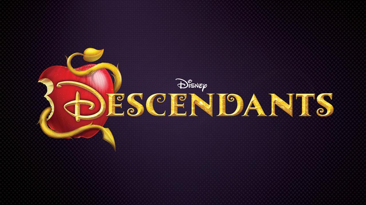 The official logo for the 2015 Disney Channel Original Movie Descendants. The live-action TV film will feature the children of animated characters from movies such as Beauty and the Beast.