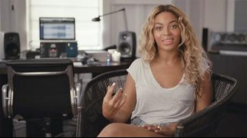 Beyonce appears in a video posted on Dec. 12, 2013 on her Facebook page in which she talks about her new 2013 visual album, Beyonce - a surprise release. - Provided courtesy of Columbia Records