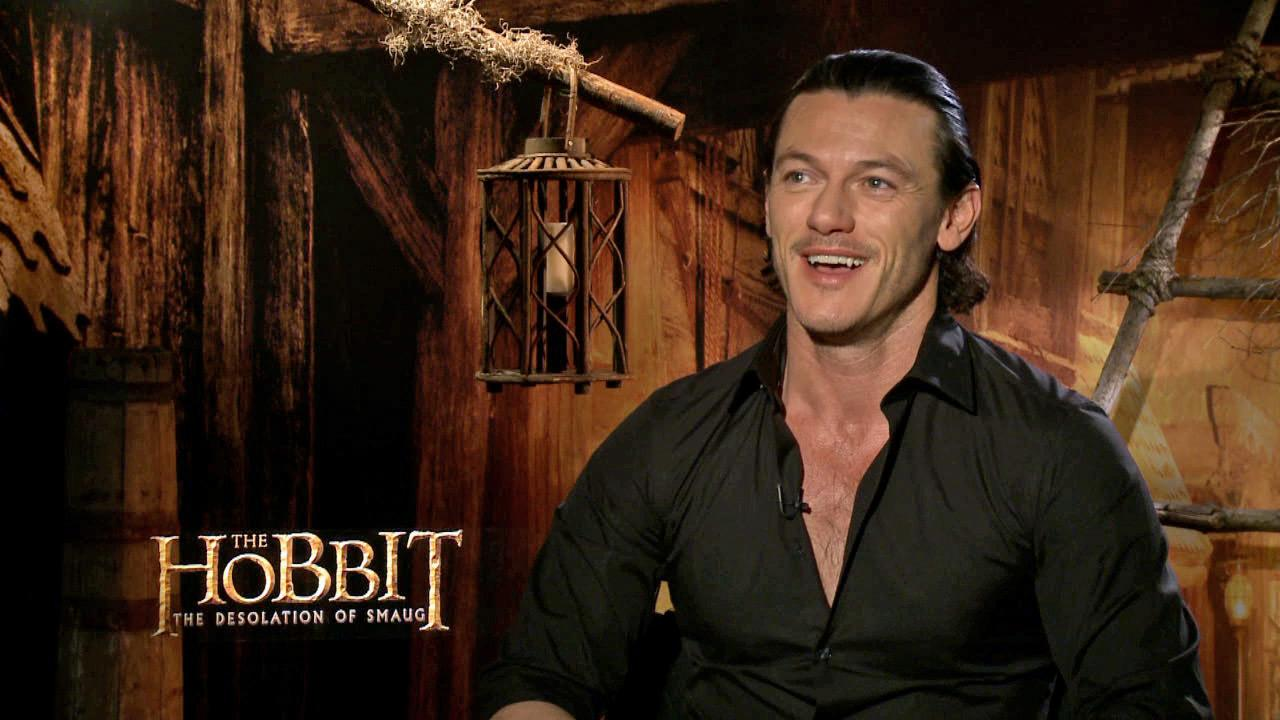 Luke Evans talks to OTRC.com about The Hobbit: The Desolation of Smaug, which was released on Dec. 13, 2013.