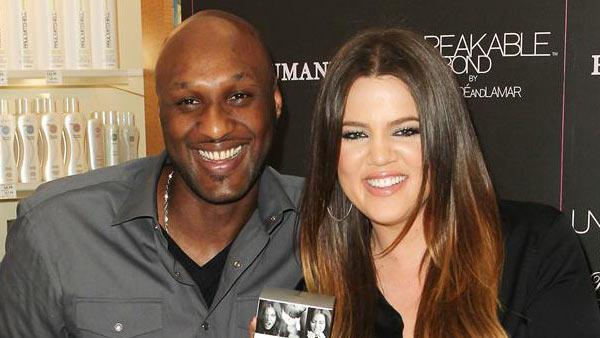 Khloe Kardashian filed for divorce from Lamar Odom on Dec. 13, 2013. The two appear at an event in Orange County, California, for their perfume Unbreakable Bond on June 7, 2012. - Provided courtesy of Humberto Carreno/startraksphoto.com