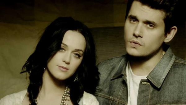 John Mayer and Katy Perry appear in the 2013 music video Who You Love. - Provided courtesy of Columbia Records