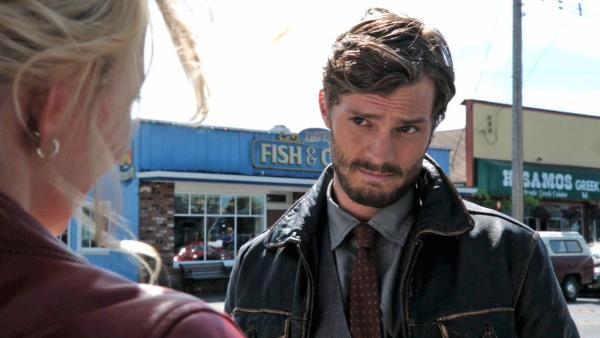 Jamie Dornan appears in a scene from the ABC show 'Once Upon A Time' in 2011.