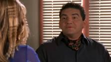 Daniel Escobar appears as teacher Mr. Escobar in a 2001 episode of the Disney Channel series Lizzie McGuire. - Provided courtesy of Stan Rogow Productions / Disney Channel