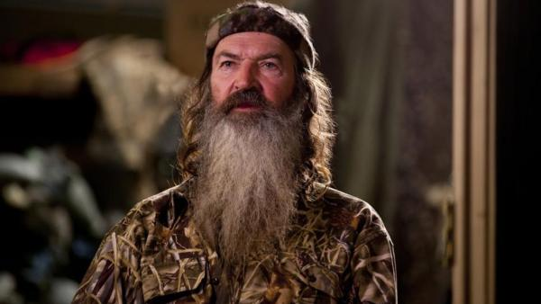 Phil Robertson appears on the AE show Duck Dynasty. The reality star made headlines on Dec. 18, 2013 over published anti-gay comments he made in an interview with GQ, published in the magazines January 2014 issue. GLAAD condemned his remarks. - Provided courtesy of AE