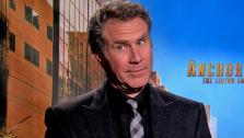 Will Ferrell talks to OTRC.com about the 2013 comedy film Anchorman 2, in which he reprises his role as news anchor Ron Burgundy. (December 2013 interview) - Provided courtesy of OTRC