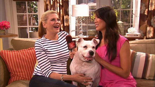 Kristen Johnston talks to OTRC.com about the TV Land show The Exes and her dog co-star, Pinky, in June 2012.