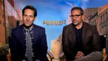 Paul Rudd and Steve Carell to OTRC.com about the 2013 comedy film A