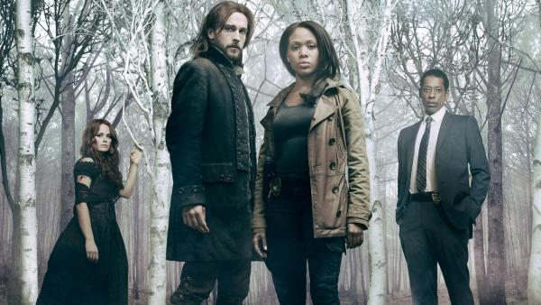 Nicole Beharie, Tom Mison, Orlando Jones, Katia Winter appear in a promotional photo for the first season of Sleepy Hollow in 2013. - Provided courtesy of Michael Lavine/FOX