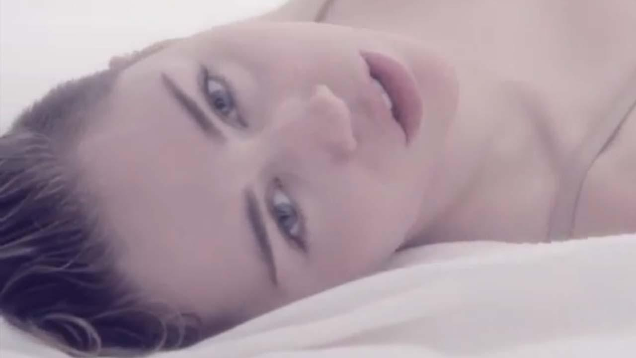 Miley Cyrus appears in the 2013 music video for the song Adore You.