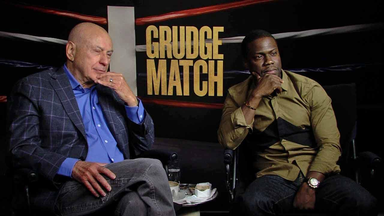 Kevin Hart and Alan Arkin talk to OTRC.com about their new film Grudge Match (December 2013 interview).