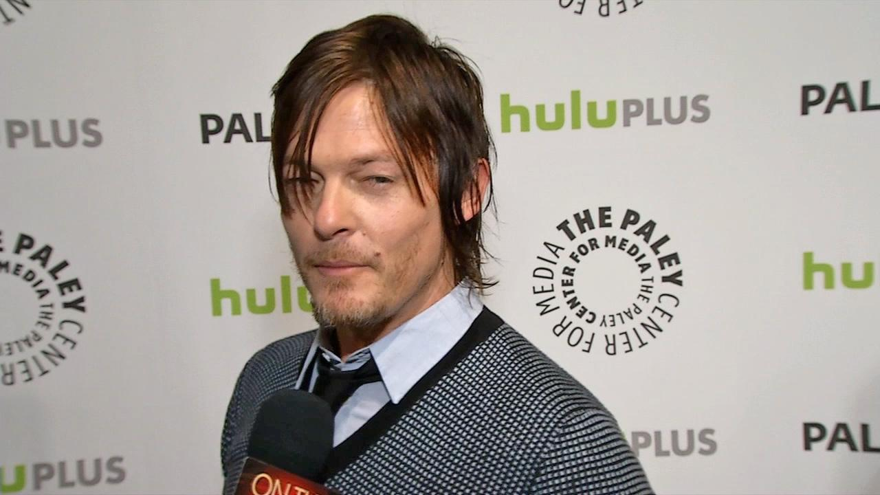 Norman Reedus of AMCs The Walking Dead talks to OTRC.com at Paleyfest on March 1, 2013. <span class=meta>(OTRC)</span>