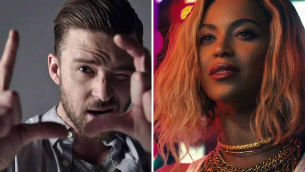 Justin Timberlake appears in the 2013 music video Tunnel Vision. Beyonce appears in the 2013 music video XO. - Provided courtesy of RCA / Columbia Records