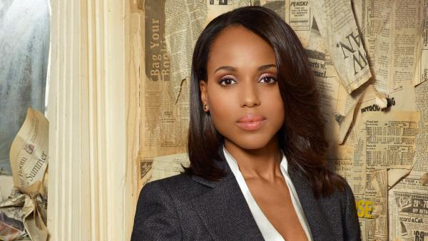 Kerry Washington appears in the Scandal season 3 promotional photo in 2013. - Provided courtesy of ABC / Craig Sjodin