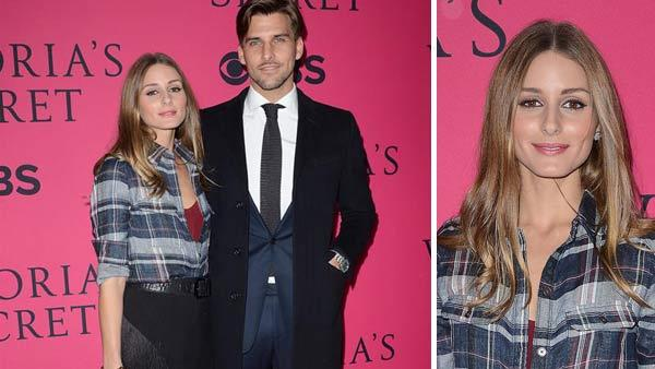 Olivia Palermo and Johannes Huebl appear at the 2013 Victorias Secret Fashion Show in New York City on Nov. 13, 2013. - Provided courtesy of Humberto Carreno / startraksphoto.com