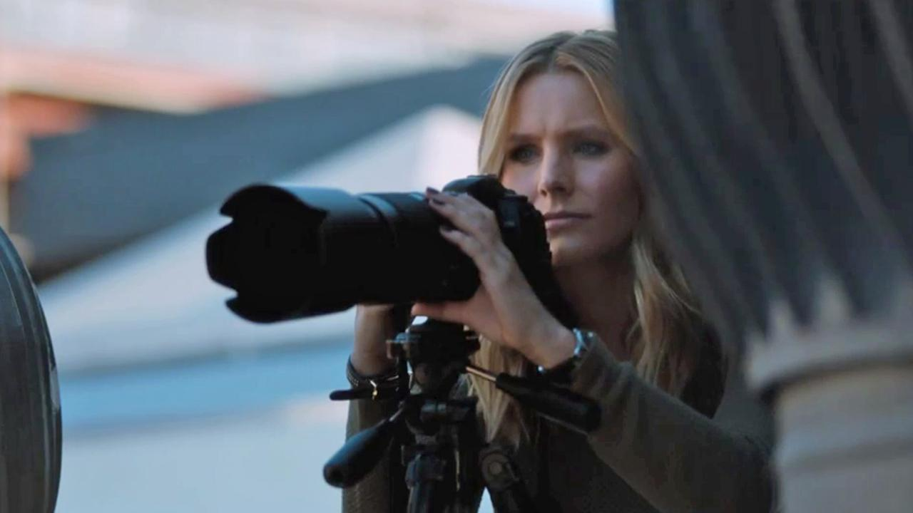 Kristen Bell stars as Veronica Mars in Veronica Mars the movie, set for release on March 14, 2014.