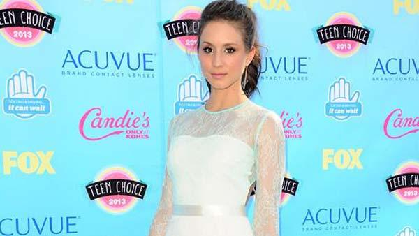 Troian Bellisario appears at the 2013 Teen Choice Awards in Los Angeles, California on Aug. 11, 2013. - Provided courtesy of Kyle Rover / startraksphoto.com