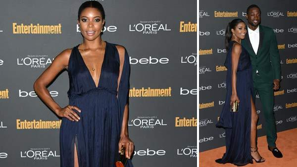 Gabrielle Union and Dwyane Wade appear at the 2013 Entertainment Weekly Pre-Emmy Party on Sept. 20, 2013 in Los Angeles, California. - Provided courtesy of Tony DiMaio / startraksphoto.com