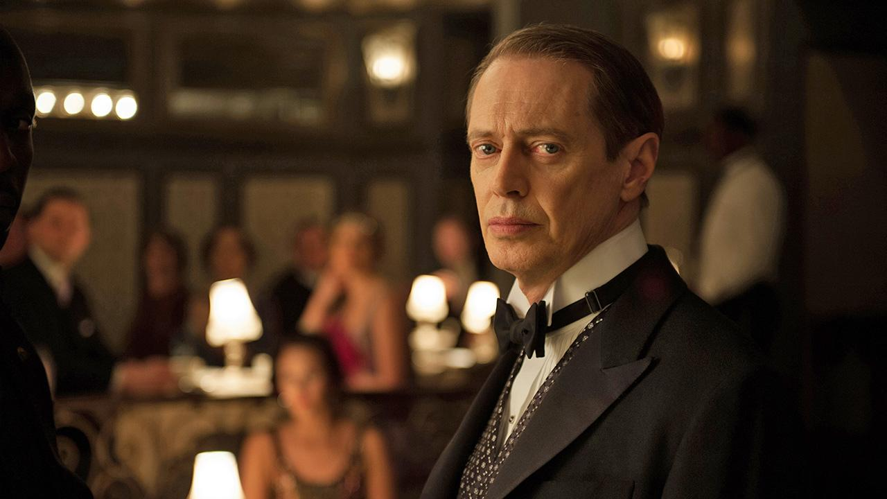 Steve Buscemi appears in a scene from the fourth season of the HBO series Boardwalk Empire in 2013.