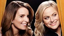 Amy Poehler and Tina Fey appear in a 2014 promotional photo for the 71st Annual Golden Globe Awards. The two are set to host the ceremony, which airs on Jan. 12, 2014. - Provided courtesy of Art Streiber/NBC