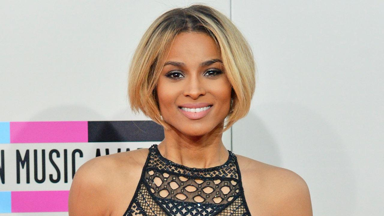 Ciara appears at the American Music Awards on Nov. 24, 2013.