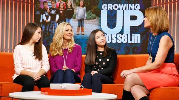 Kate Gosselin and her twins, Cara and Mady, appear on the Today show on Jan. 16, 2014. - Provided courtesy of Peter Kramer/NBC