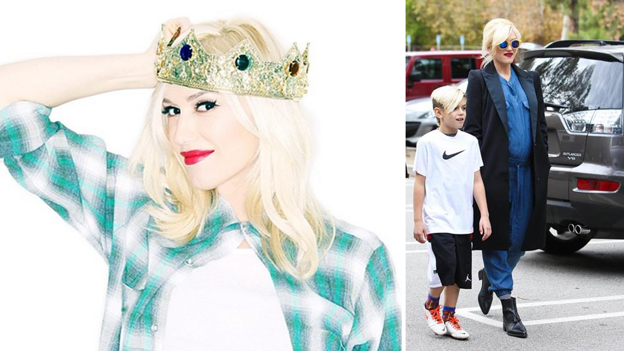 Gwen Stefani posted this photo on her Instagram page on Jan. 17, 2014, in which she confirms she and Gavin Rossdale are expecting their third son after keeping mum about her pregnancy for months.  instagram.com/p/jR3rkXOLWg/ instagram.com/gwenstefani / David Wright / Startraksphoto.com