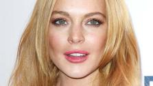Lindsay Lohan appears at Z100s Jingle Ball 2013 in New York Cit