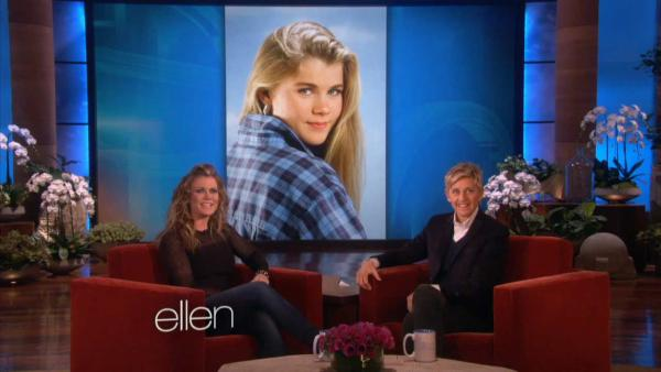 Alison Sweeney appears on an episode of The Ellen DeGeneres show on Jan. 20, 2014. - Provided courtesy of The Ellen DeGeneres Show