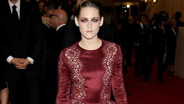 Kristen Stewart appears at the PUNK: Chaos To Couture Costume Institute Gala at the Metropolitan Museum of Art in New York City on May 6, 2013. - Provided courtesy of Bill Davila / startraksphoto.com