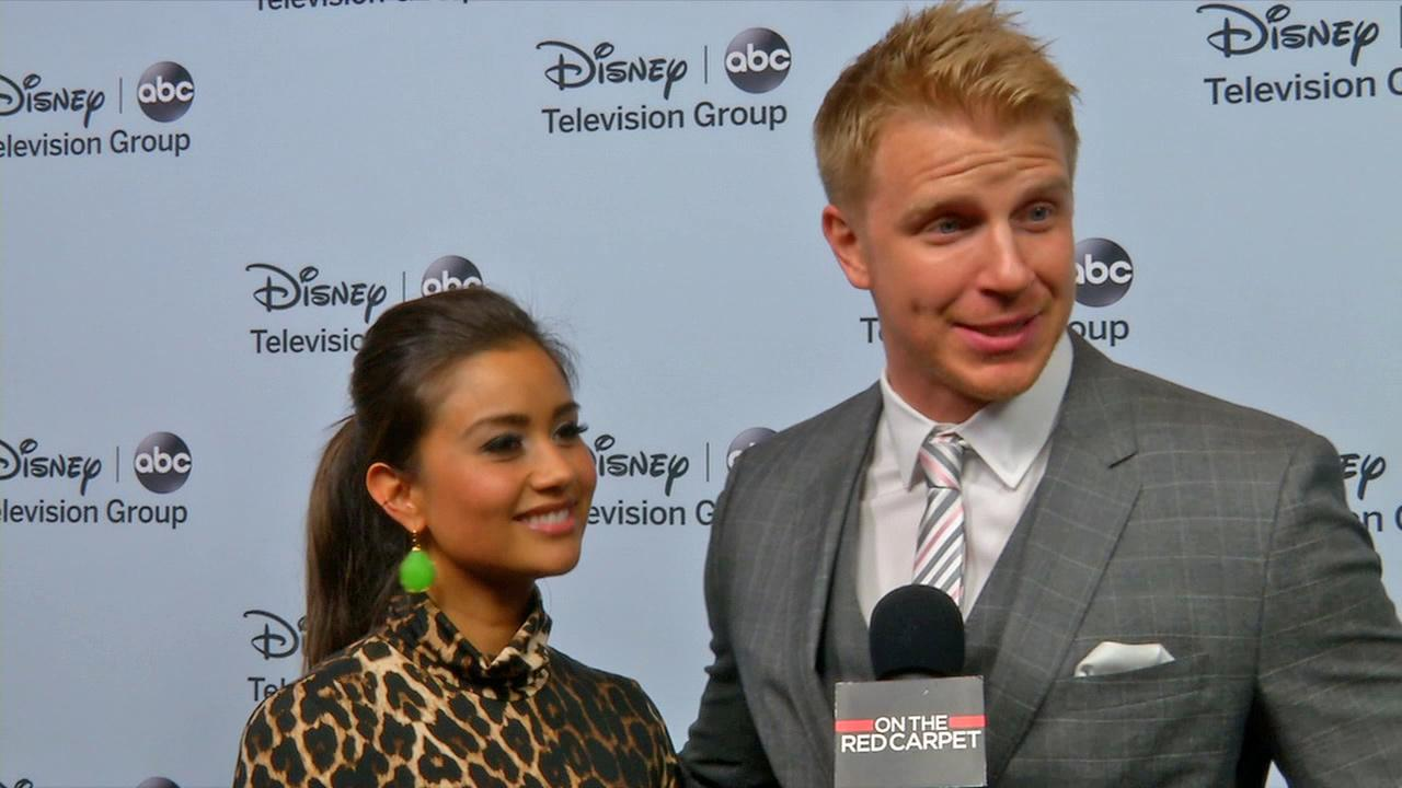 Bachelor couple Sean Lowe, Catherine Giudici talk to OTRC.com about their televised Jan. 26, 2014 wedding. (Interview carried out at ABCs Winter 2014 TCA event in Pasadena, California on Jan. 17, 2014.)