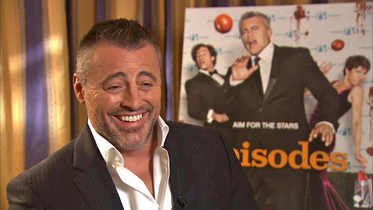 Matt LeBlanc spoke to OTRC.com about the Showtime series Episodes and a possible Friends reunion (January 2014 interview).