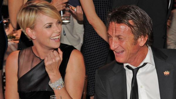 Charlize Theron and Sean Penn appear at the Sean Penn & Friends HELP HAITI HOME Gala & Fundraiser Benefitting J/P Haitian Relief Organization in Beverly Hills, California on Jan. 12, 2014. - Provided courtesy of Wireimage