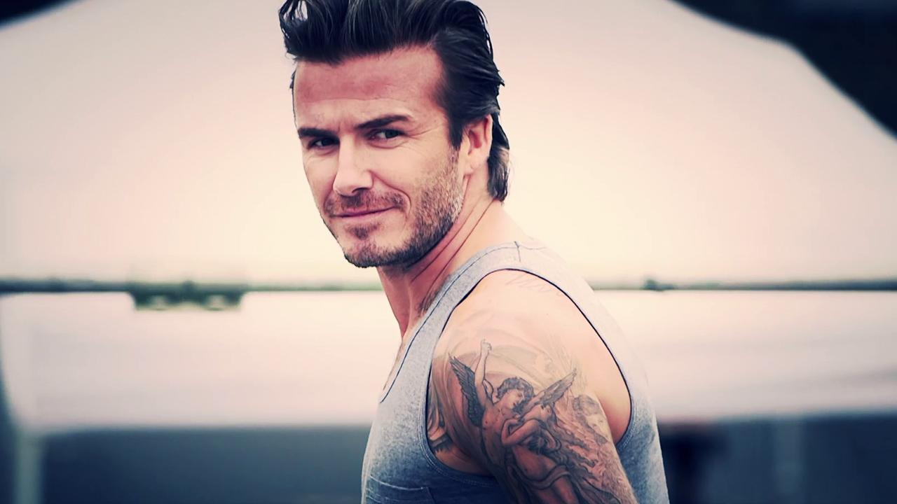 David Beckham appears in an H+M Bodywear Spring 2014 Collection ad. It will debut officially at Super Bowl XLVIII on Feb. 2, 2014. <span class=meta>(H&#43;M)</span>