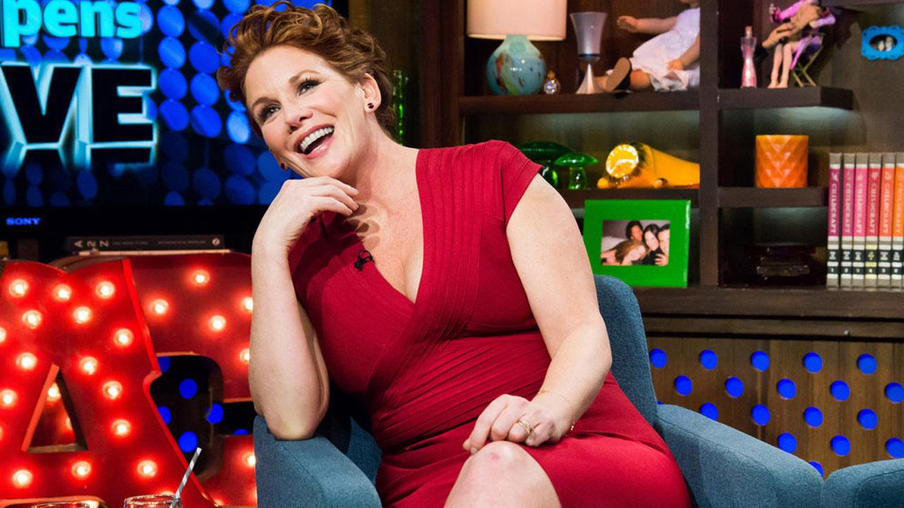 Melissa Gilbert appears on Watch What Happens Live on Jan. 22, 2014.