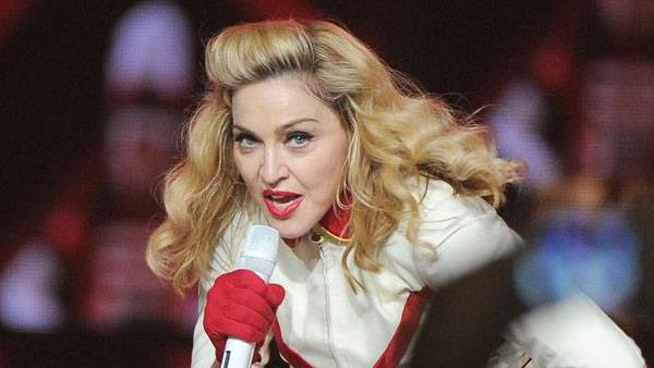 Madonna performs at Staples Center in Los Angeles on Oct. 10, 2012. The Queen of Pop was on Jan. 24, 2014 announced as a performer for the 2014 Grammy Awards, which takes place on Jan. 26. - Provided courtesy of ROCKINEXPOSURES / Startraksphoto.com