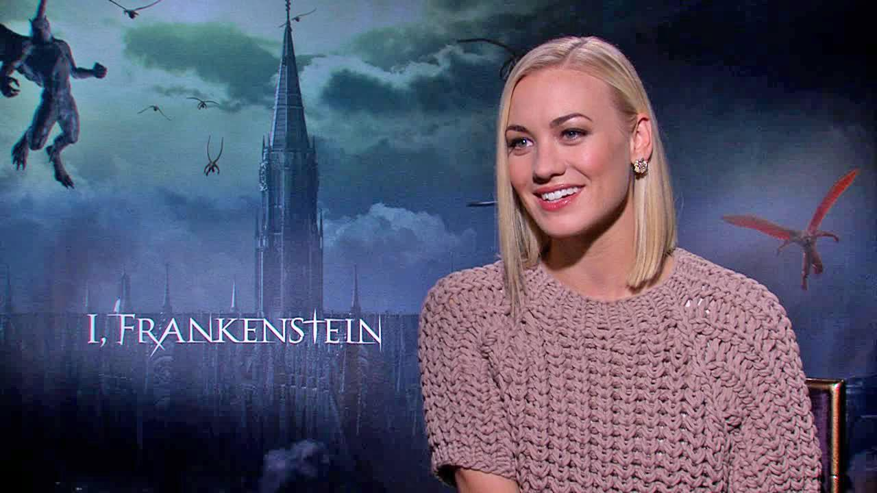 Yvonne Strahovski appears in an interview with OTRC.com for the film I, Frankenstein on Jan. 19, 2014.