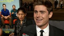 Zac Efron appears at the Los Angeles premiere of That Awkward Moment on Jan. 27, 2014. - Provided courtesy of OTRC