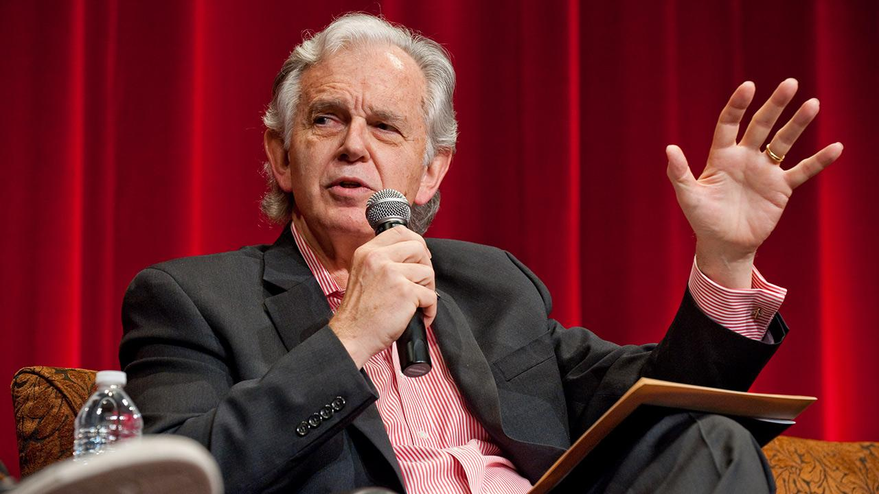 Bruce Broughton appears during the Whats Opera Doc? event, presented by the Academy of Motion Picture Arts and Sciences, on  May 14, 2010. On Jan. 29, 2014, the Academy rescinded the nomination of Broughtons song Alone Not Yet Alone.