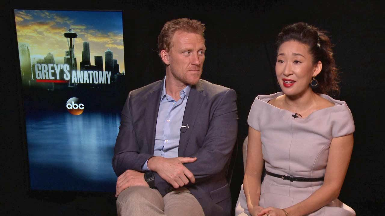 Greys Anatomy stars Sandra Oh and Kevin McKidd talk to OTRC.com about in season 10 of the hit ABC series (January 2014 interview).